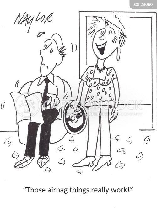 air-bags cartoon