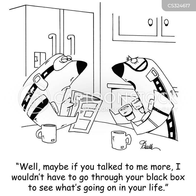 black box cartoon