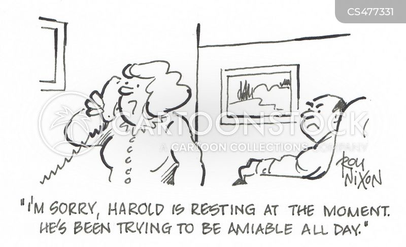 grouchiness cartoon