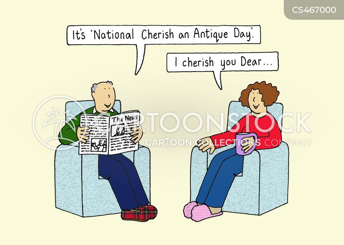 cherish cartoon