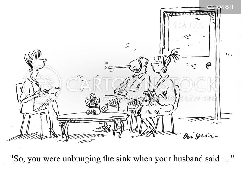 sink plungers cartoon