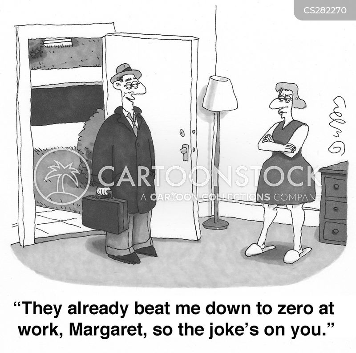 marital discord cartoon