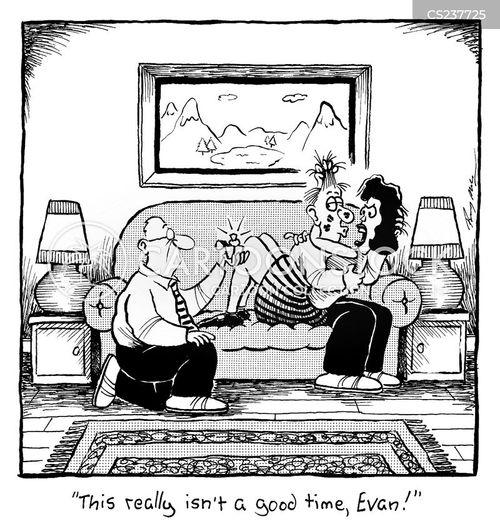 canoodling cartoon