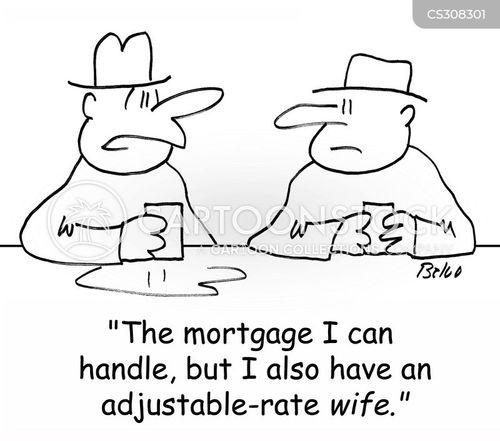 bank rates cartoons and comics