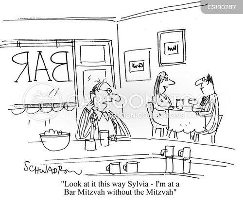 bar mitzvah cartoon