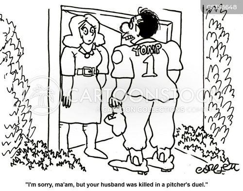 national sports cartoon