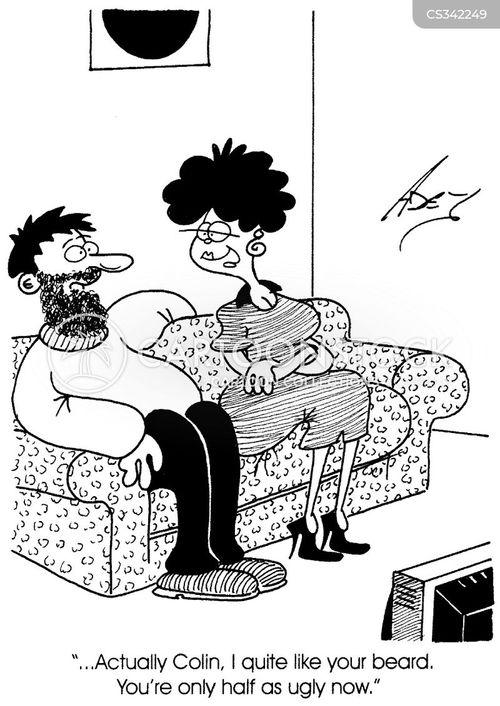 brunette cartoon