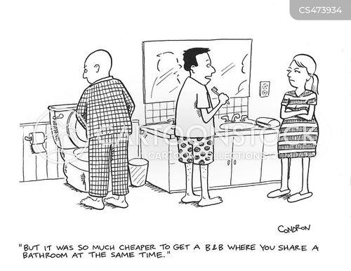 lodging cartoon