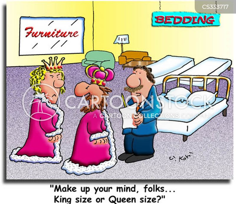 new beds cartoon