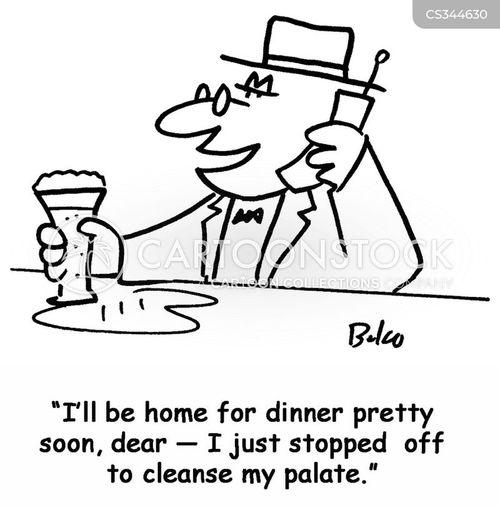 cleansed palate cartoon
