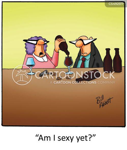 beer goggle cartoon