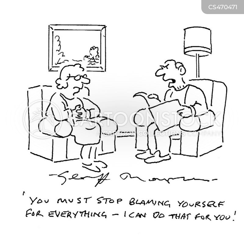 self-esteem issues cartoon