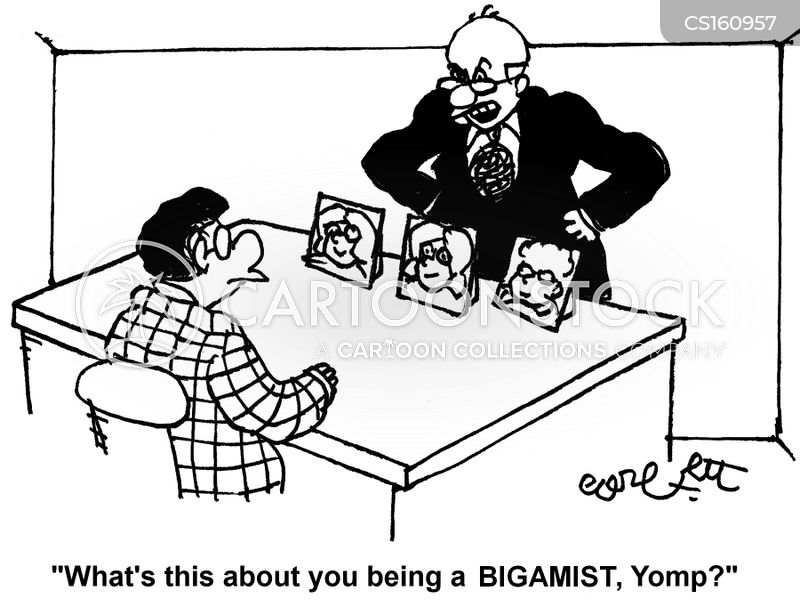 bigamists cartoon