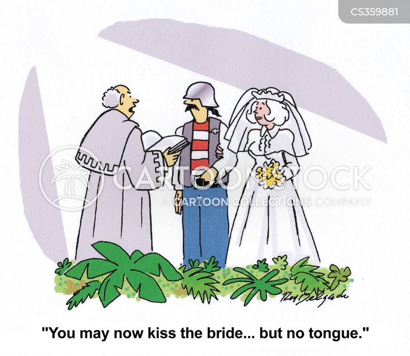 tonguing cartoon