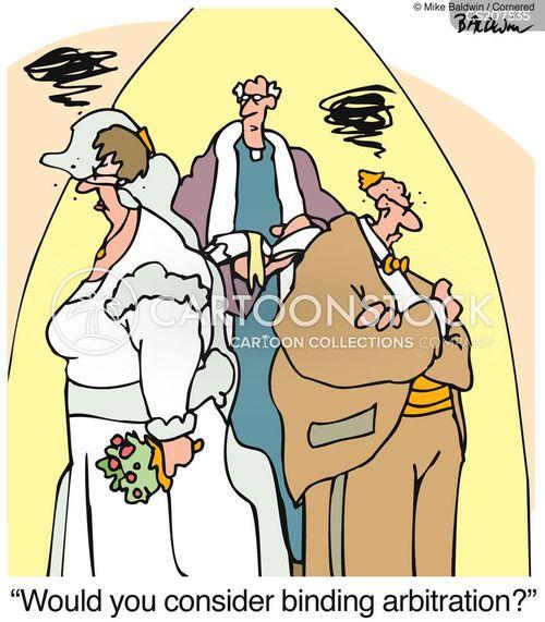 mariage cartoon