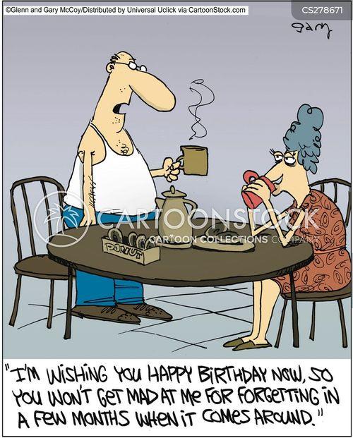 Birthday Date Cartoons And Comics