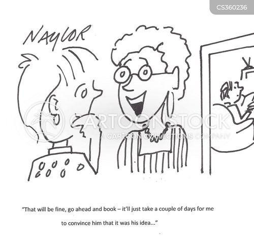 convinced cartoon