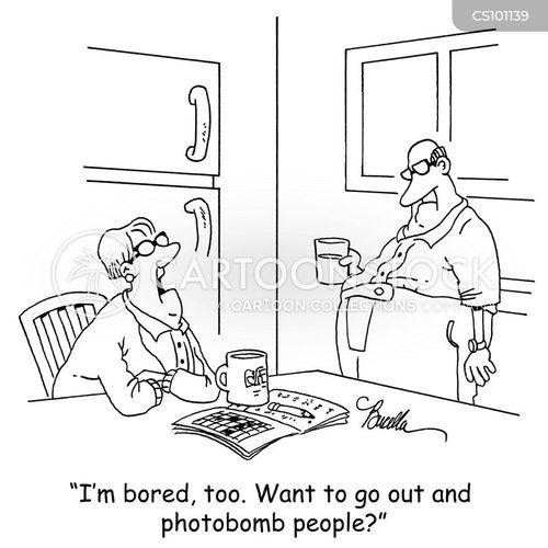 shared hobby cartoon
