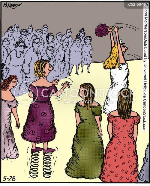 bridal cartoon