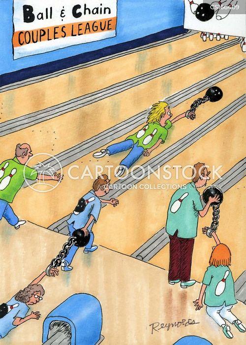 tenpin bowler cartoon