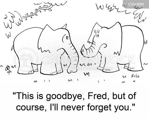 never forget cartoon