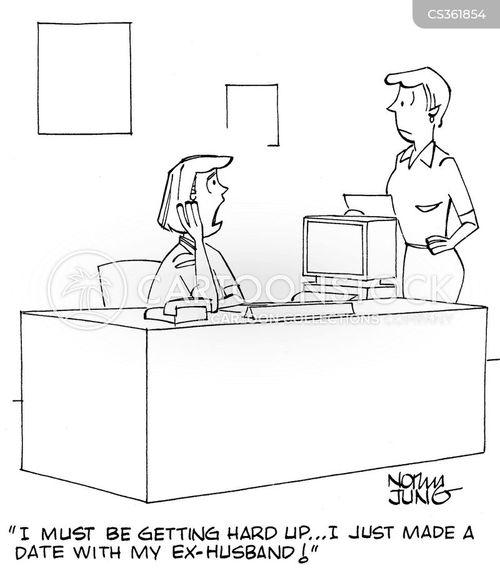 desperately cartoon