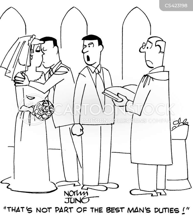 best man s duties cartoons and comics funny pictures from cartoonstock