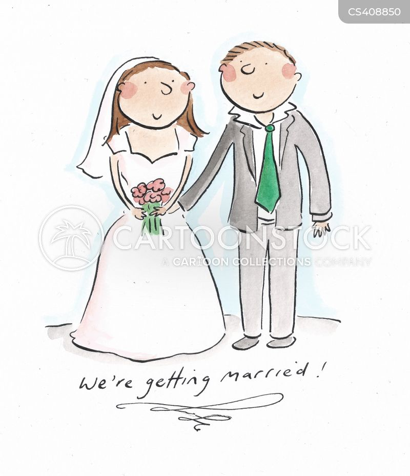 white weddings cartoon
