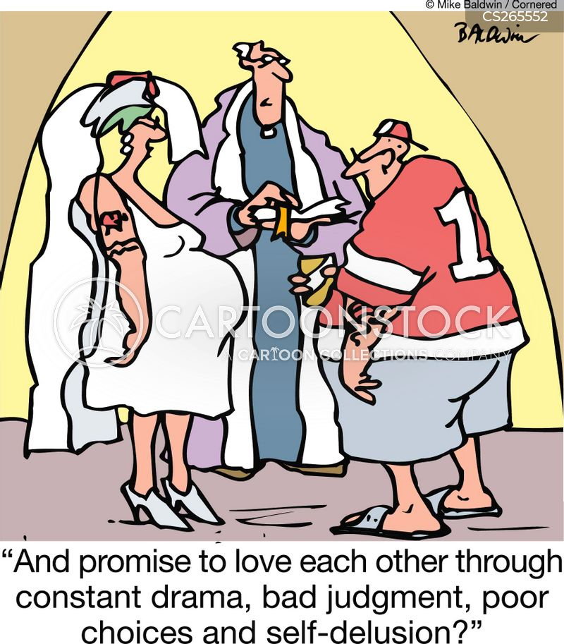 Pregnant Bride Cartoons And Comics Funny Pictures From Cartoonstock
