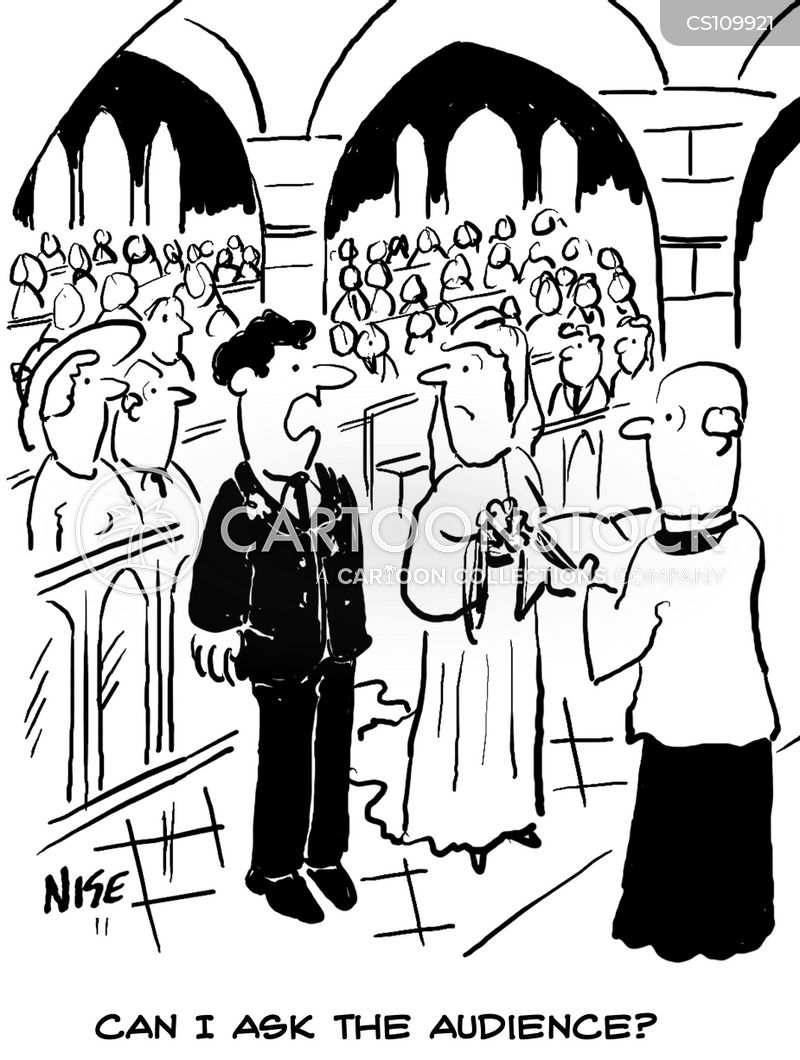 ask the audience cartoon