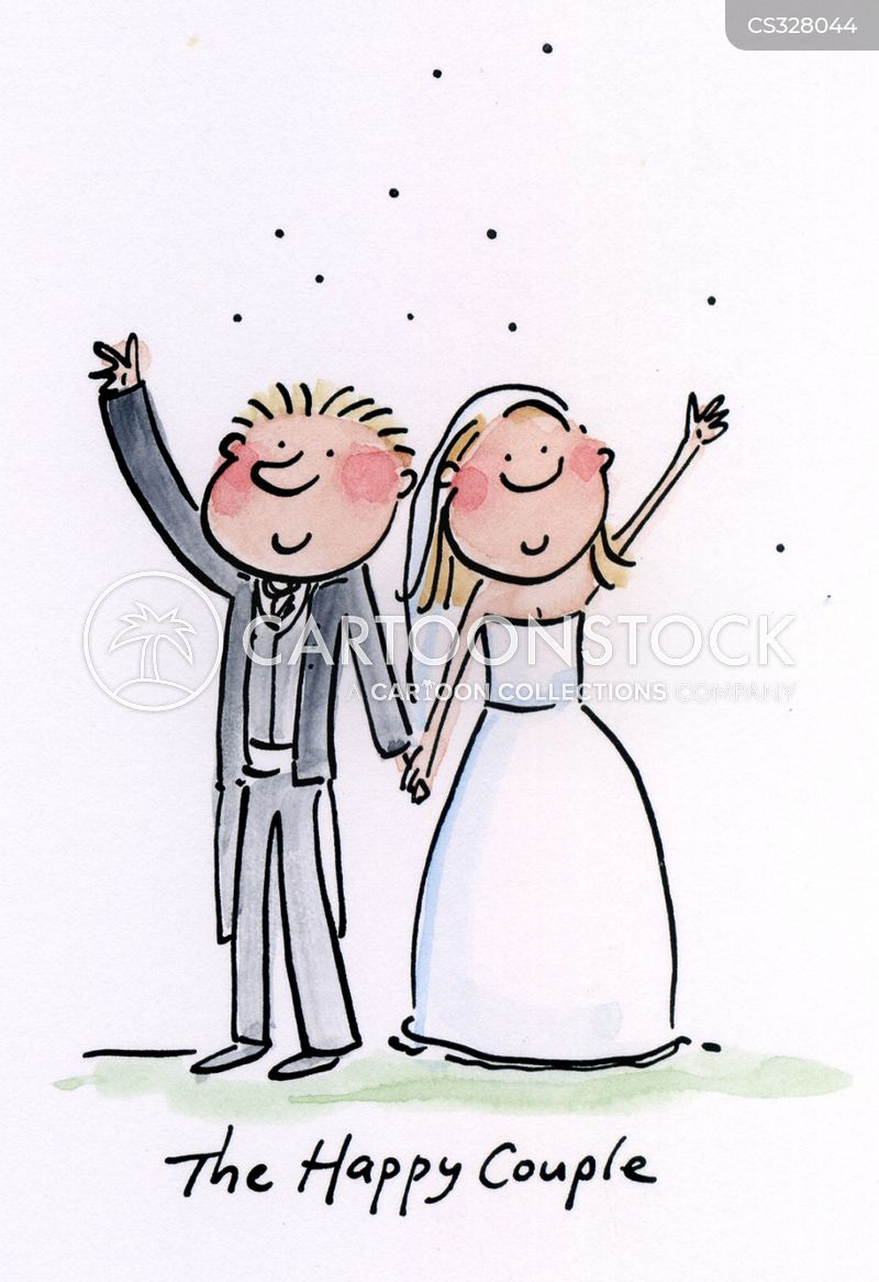 Happy Couple Cartoons And Comics Funny Pictures From Cartoonstock