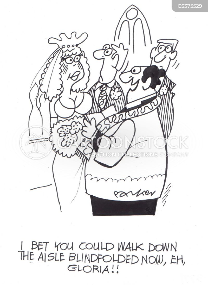 re-married cartoon