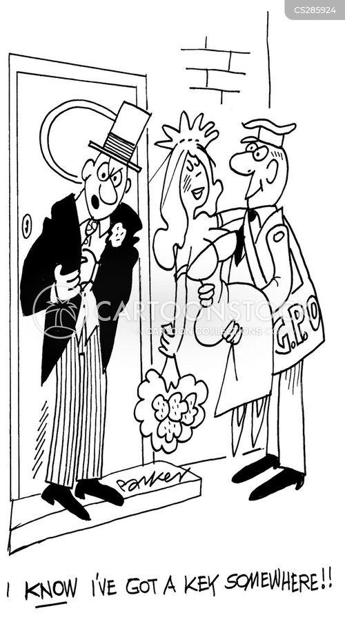house key cartoon