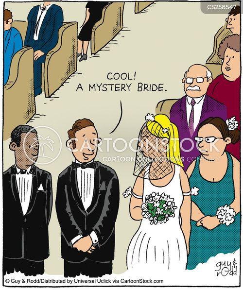 veiled cartoon
