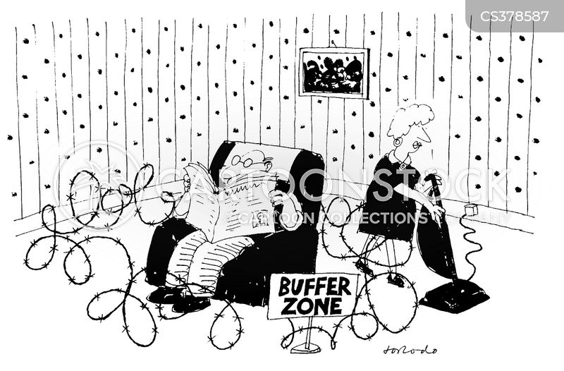 buffer zone cartoon