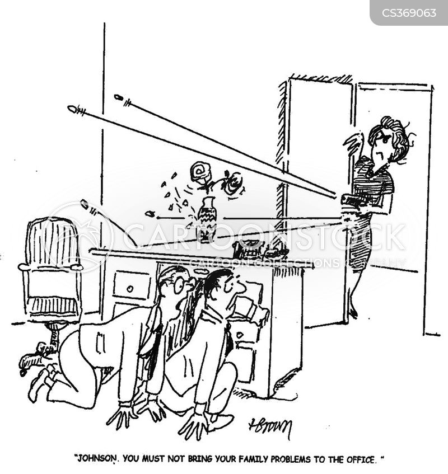home environments cartoon