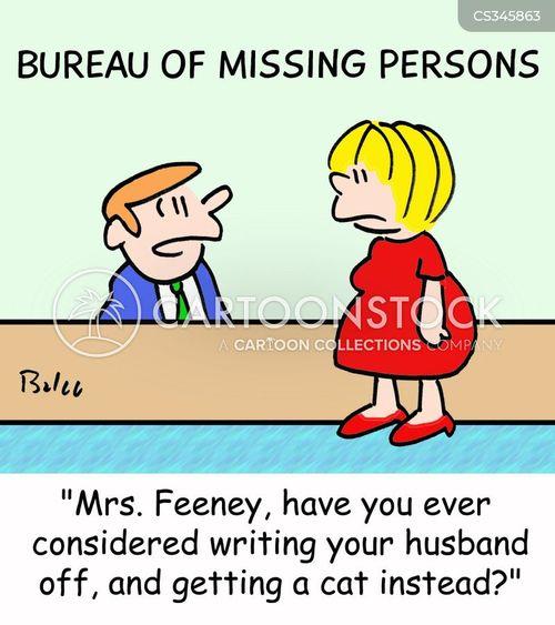 writing off cartoon