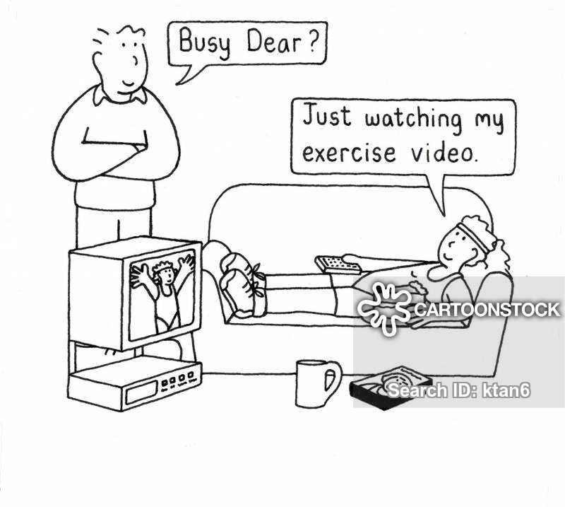 excercise cartoon