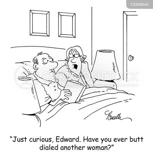 butt dialled cartoon