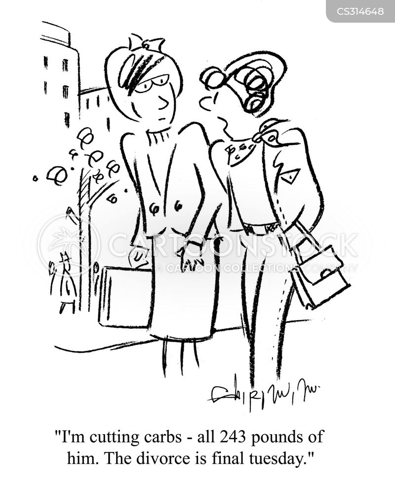 marriage troubles cartoon
