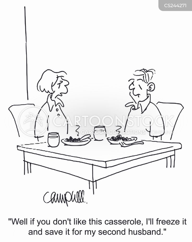 casseroles cartoon
