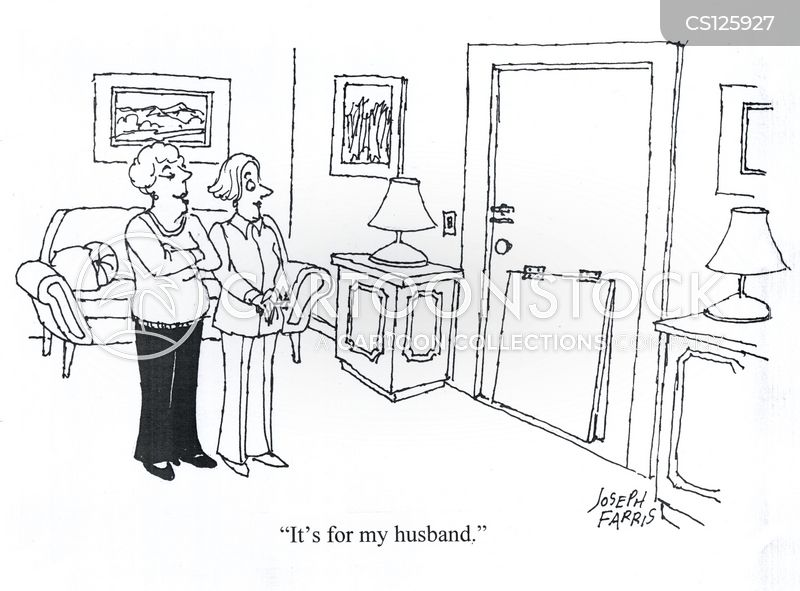 controlling wives cartoon