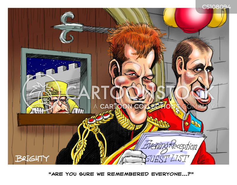 royal wedding cartoon