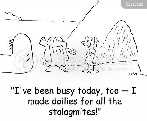 doilies cartoon