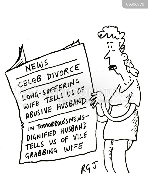 tabloid news cartoon