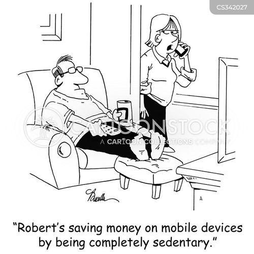 inactivity cartoon