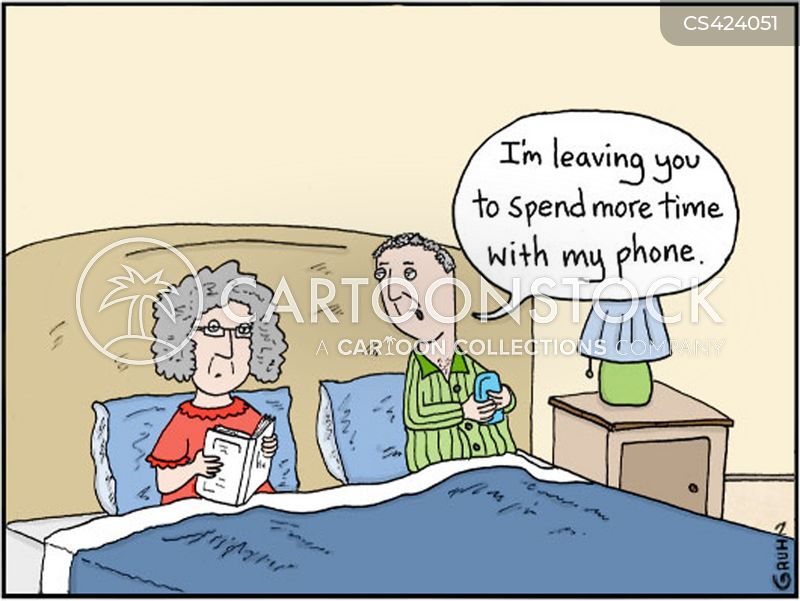 mobile dependency cartoon
