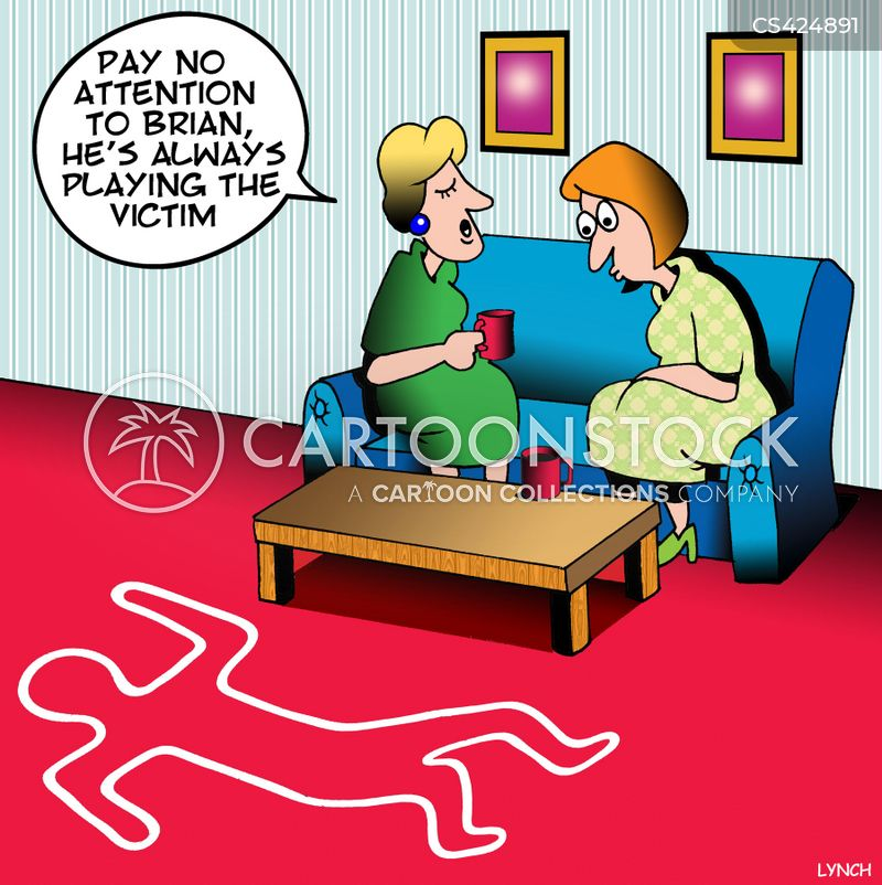 victimisation cartoon