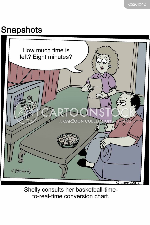 televised cartoon