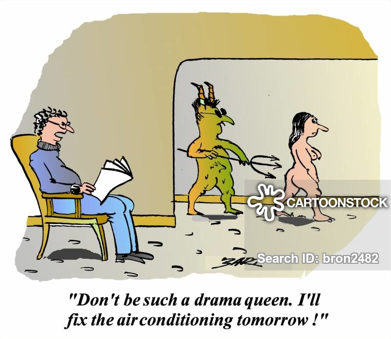 drama-queens cartoon